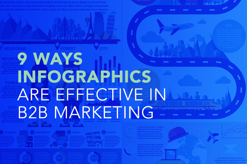 9 Ways Infographics are Effective in B2B Marketing
