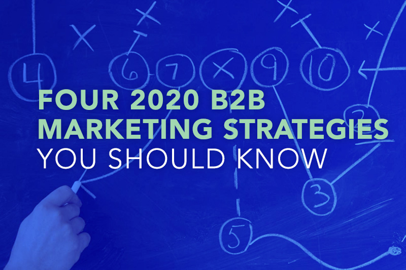 Four 2020 B2B Marketing Strategies You Should Know