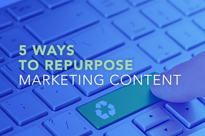 5 Ways To Repurpose Marketing Content