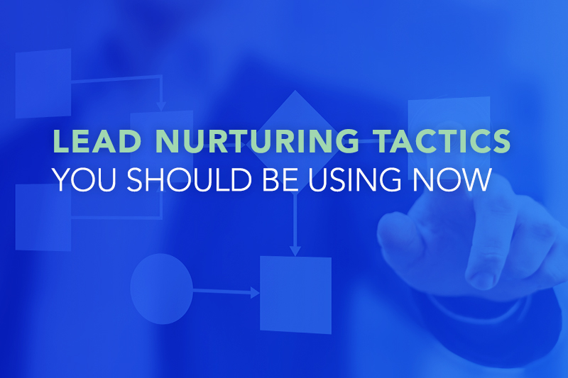 Lead Nurturing Tactics You Should Be Using Now